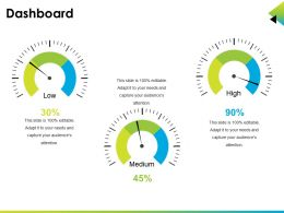 Dashboard Ppt Infographic Template