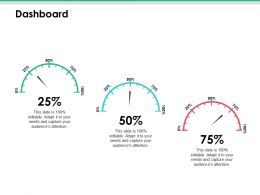 Dashboard Ppt Infographic Template Pictures