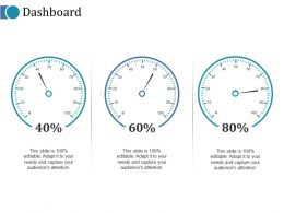 Dashboard Ppt Infographics Example