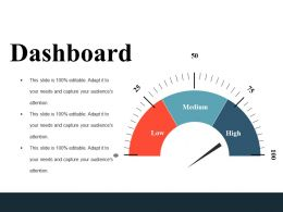 Dashboard Ppt Inspiration