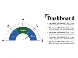 Dashboard Ppt Model