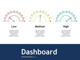 Dashboard Ppt Outline Graphics