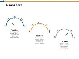 Dashboard Ppt Powerpoint Presentation Model Show