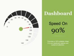 Dashboard Ppt Professional Background Images
