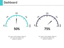Dashboard Ppt Show Graphics Template