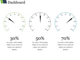 Dashboard Ppt Slide Design