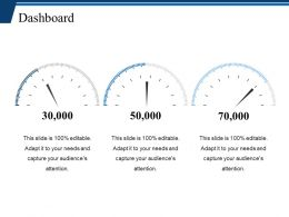 Dashboard Ppt Slides