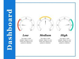 Dashboard Ppt Styles Vector