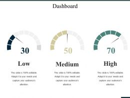 Dashboard Ppt Summary Portrait