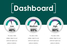 Dashboard Ppt Summary Sample