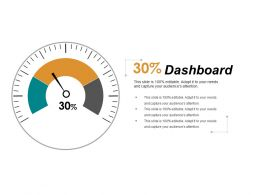 Dashboard Ppt Visual Aids Infographic Template