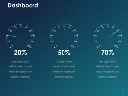 Dashboard Ppt Visual Aids Slides