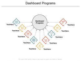 Dashboard Programs Ppt Powerpoint Presentation Model Design Ideas Cpb