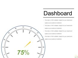 Dashboard Sample Of Ppt Presentation