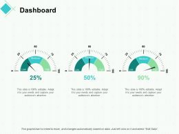 Dashboard Strategy Ppt Powerpoint Presentation Professional Good