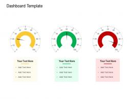 Dashboard Template Agile Operations Management Improving Tasks Boosting Team Performance Ppt Icon