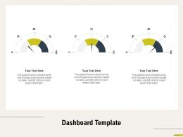 Dashboard Template Data M684 Ppt Powerpoint Presentation Pictures Example