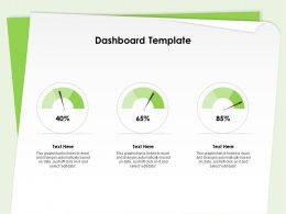 Dashboard Template Edit Data Ppt Powerpoint Presentation Infographic Template