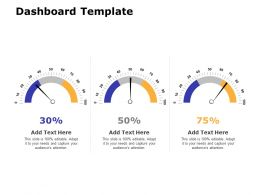 Dashboard Template M89 Ppt Powerpoint Presentation Layouts Layout