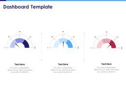 Dashboard Template N287 Powerpoint Presentation Portrait