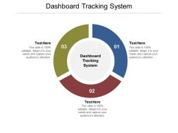 Dashboard Tracking System Ppt Powerpoint Presentation Layouts Visuals Cpb