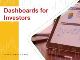 Dashboards For Investors Powerpoint Presentation Slides