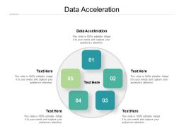 Data Acceleration Ppt Powerpoint Presentation Professional Display Cpb