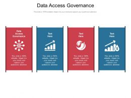 Data Access Governance Ppt Powerpoint Presentation Icon Images Cpb