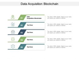 Data Acquisition Blockchain Ppt Powerpoint Presentation Slide Download Cpb