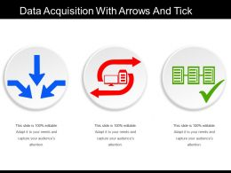 Data Acquisition With Arrows And Tick
