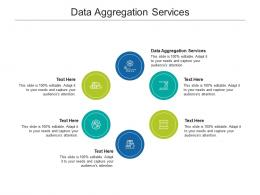 Data Aggregation Services Ppt Powerpoint Presentation Professional Templates Cpb
