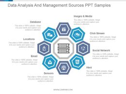Data Analysis And Management Sources Ppt Samples