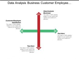 Data Analysis Business Customer Employee Satisfaction Strategic Advertising