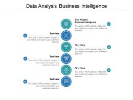 Data Analysis Business Intelligence Ppt Powerpoint Presentation Gallery Cpb