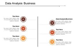 Data Analysis Business Ppt Powerpoint Presentation Model Styles Cpb