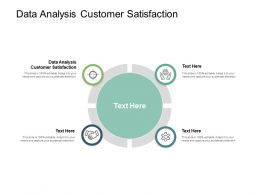 Data Analysis Customer Satisfaction Ppt Powerpoint Presentation Summary Format Cpb