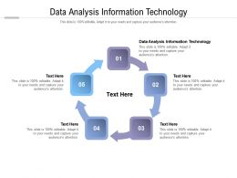 Data Analysis Information Technology Ppt Powerpoint Presentation Layouts Templates Cpb