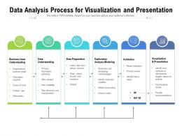 Data Analysis Process For Visualization And Presentation