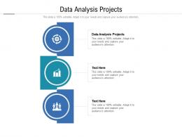 Data Analysis Projects Ppt Powerpoint Presentation Designs Cpb