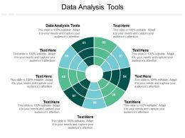 Data Analysis Tools Ppt Powerpoint Presentation Model Show Cpb