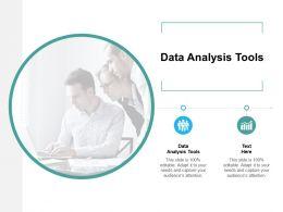 Data Analysis Tools Ppt Powerpoint Presentation Summary Themes Cpb