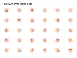 Data Analytic Icons Slide Ppt Powerpoint Presentation Infographics Gridlines