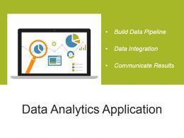 Data Analytics Application Powerpoint Presentation Examples