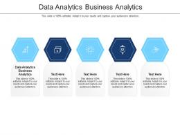 Data Analytics Business Analytics Ppt Powerpoint Presentation Summary Show Cpb