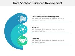 Data Analytics Business Development Ppt Powerpoint Presentation File Tips Cpb