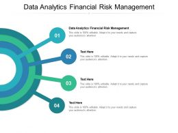Data Analytics Financial Risk Management Ppt Powerpoint Presentation Styles Cpb