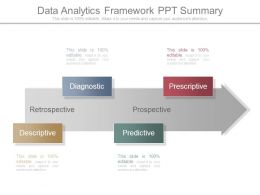 Data Analytics Framework Ppt Summary