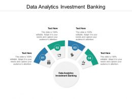 Data Analytics Investment Banking Ppt Powerpoint Presentation Ideas Graphics Cpb