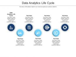 Data Analytics Life Cycle Ppt Powerpoint Presentation Portfolio Design Ideas Cpb