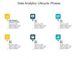 Data Analytics Lifecycle Phases Ppt Powerpoint Presentation Model Slideshow Cpb